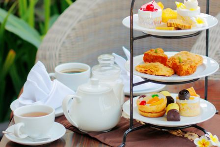 Afternoon Tea Wedding villa bali casa bonita by premier hospitality asia